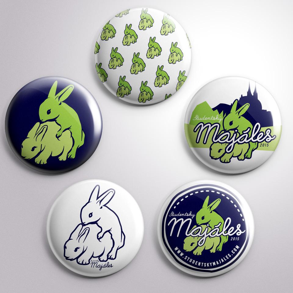 studentsky majales pins visual style yvans merchandise
